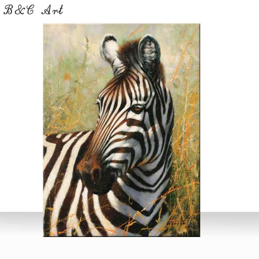 Traditional Young Zebra Painting By Number