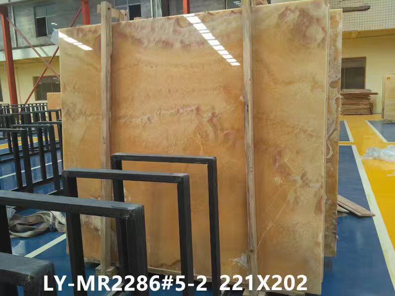 North American yellow onyx