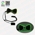 wholesale hight quality glow bowtie halloween led el bowtie