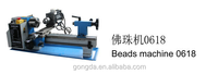 Mini wood lathe for buddha beads