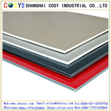 Brush coated 4mm Aluminum Composite Panels/ACP sheets