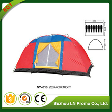 Hot Sale Luxury Family Waterproof Windbreaker Adult Hiking Tent