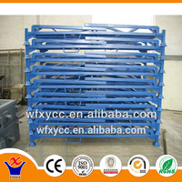 Steel structure pipe tire rack for sale