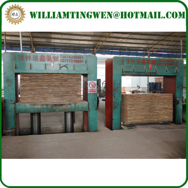 Woodworking Machinery Automatic Plywood Cold Press Machine