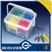 Color nylon anchor with plastic box packing