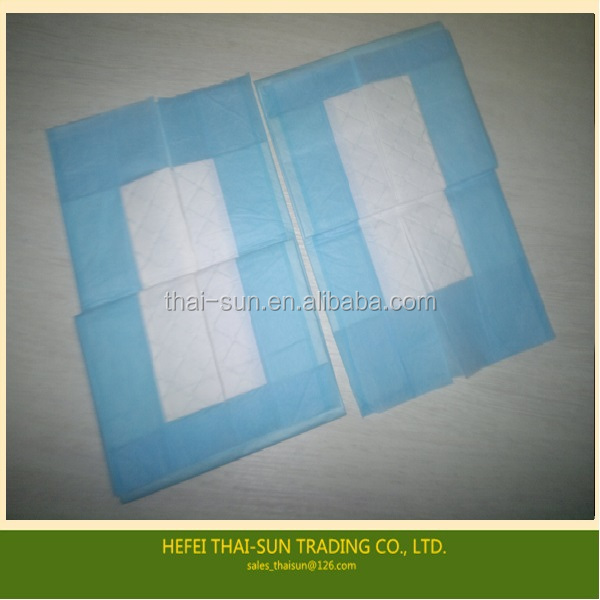 health care medical incontinence underpad /incontinence pad /bed pad