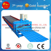 High Speed Glazed Tile Roll Forming Machine,Roof Tile Pressing Production Line