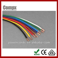 0.75mm2 H05V2-K PVC insulated single cords VDE cable