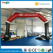 inflatable finish line arch rental/ balloons arches/ wedding arches for sale