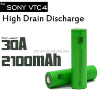 High Quality hot selling 3.7V Rechargeable Battery vtc4 2100MAH 18650 vtc4 Li-ion batteries best price in stock