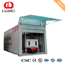 20ft container type diesel petrol portable fuel tank filling station