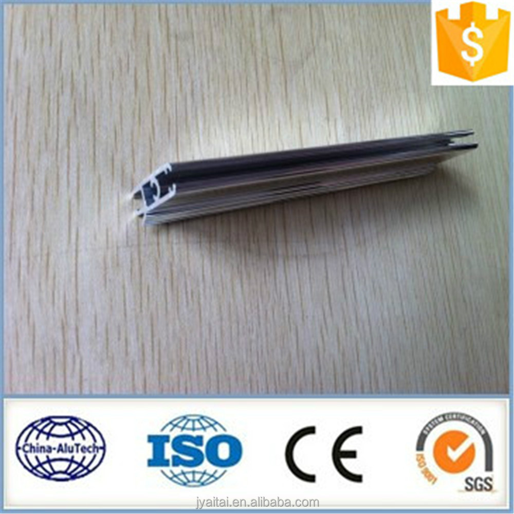 good silvery white aluminium extrusion profile for industry