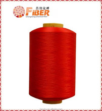 polyester fiber,polyester dty 150d 48f yarn,dope dyed high tenacity High shrinkage