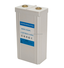 Customized 3.2V 100Ah lithium iron phosphate battery for UPS backup storage with long life cycle