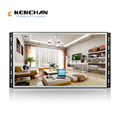 wall mounted full hd led video display, battery loop video advertising display screen