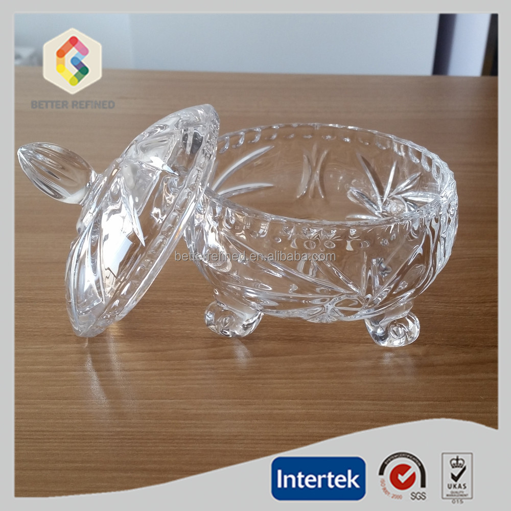 Clear Glass Box With Legs