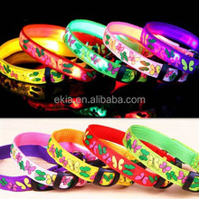 Hot Sell Stylish LED Pet Collars For Cat Dog / Flashing Night Warning Collar / Light-up Necklace