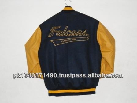 Custom Made Falcons Class of 2013 embroidered Varsity College Jacket