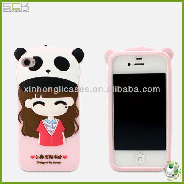 Silicon Phone Case for iphone 4s