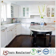 China Made American Custom cheap Kitchen Cabinets Design Solid Wood White