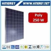 Cheap price pv 250w 255w 260w solar module aesthetic poly250W solar panels power made in Taiwan