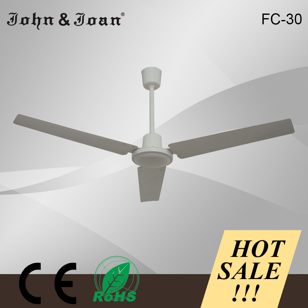 "High quality excellent for dining room using 56"" industrial ceiling fan with 3 blade"