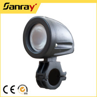 Waterproof IP68 10W 12v led black light for fishing boat with rail clamp mount