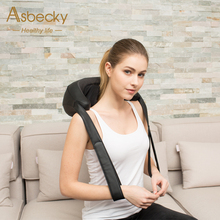Muscle Relief Heated Electronic Body Care Neck Pillow Massage neck back pillows
