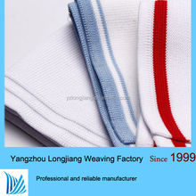 linen polyester blend knitted fabric rib fabric