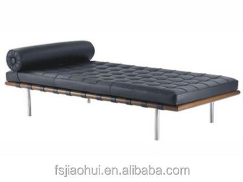 Hot Sale New Model Leisure Style Barcelona Leather Sofa Bed