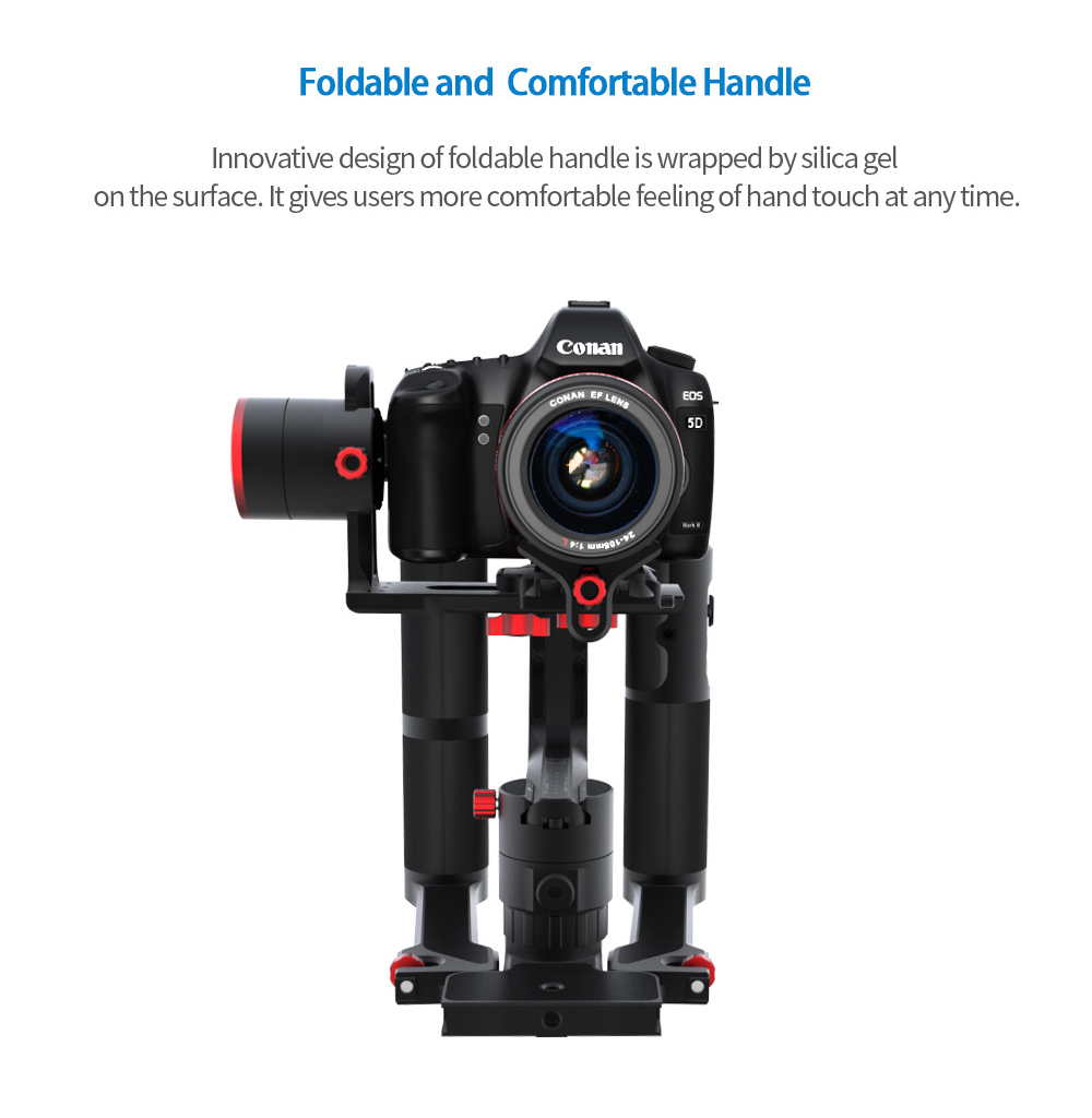 a2000 dual grip handle set gimbal for DSLR and Mirrorless camera