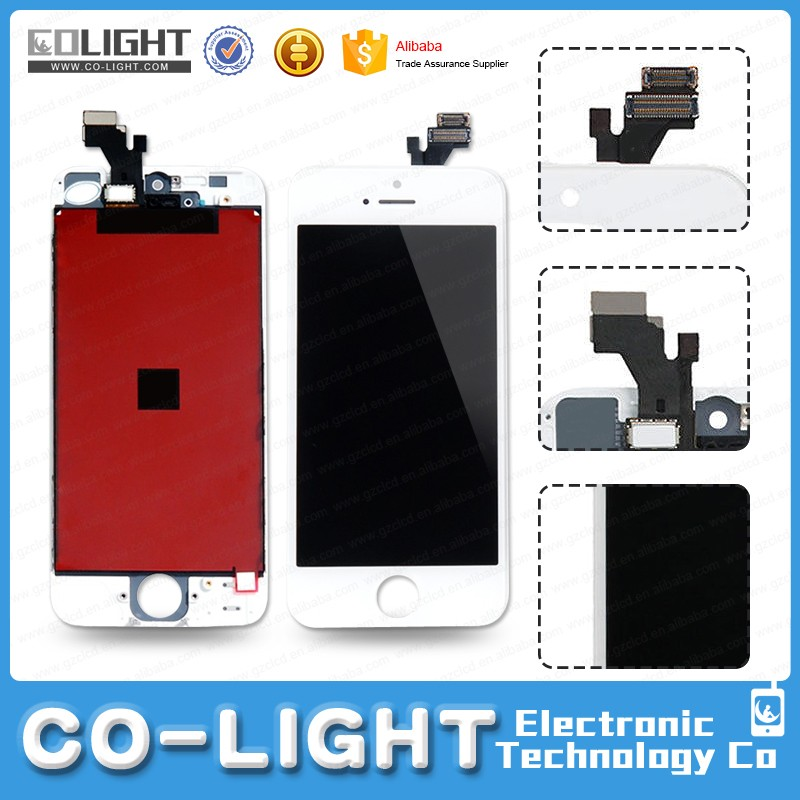Free Shipping lcd screen touch digitizer for iphone 5 new arrival