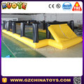 Popular football field inflatable football pitch for sale