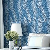Yien Wallpaper Non-woven wallpaper Abstract lines 3D design