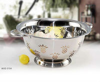 stainless steel colander / Strainers / colored colanders