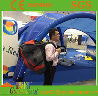 Customized outdoor inflatable air tent, dome inflatable tent with packbag and lights for adversiting/Events/Exhibition