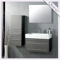 "27.5"" Modern Wall Hung Gray woodenBathroom Cabinet"