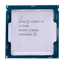 Original cheapIntel Core i3 6100 Processor 3.7GHz 3MB Cache Dual Core Socket LGA 1151 Qual Core Desktop I3-6100 CPU