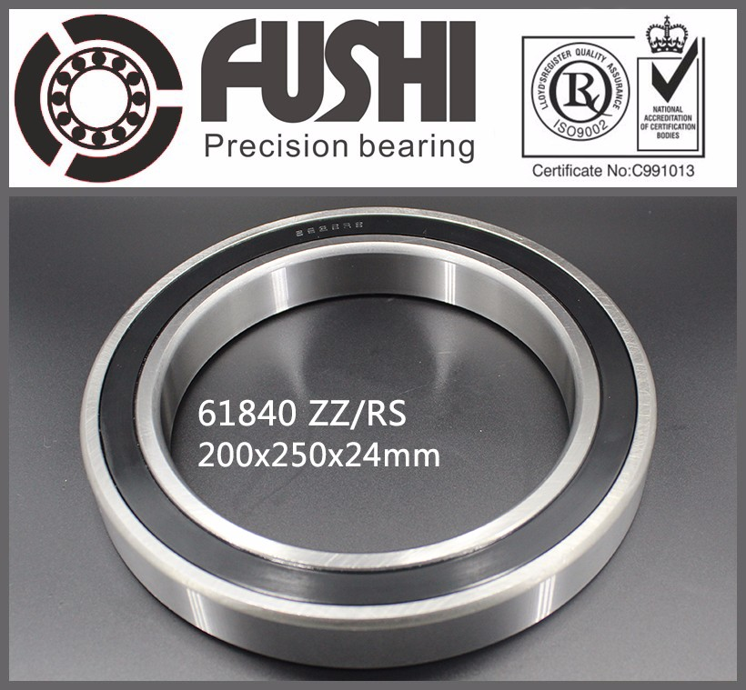6840-2z <strong>Bearings</strong> 1000840 dgbb 200*250*24 Slim/Thin-wall <strong>Bearing</strong> 61840zz Shielded Deep Groove Ball <strong>Bearing</strong> 6840zz
