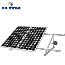 Easy Installation PV Structures Adjustable Solar Panel Mounting Bracket For Concrete Flat Roof