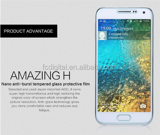 Anti explosion 9H 2.5D 0.33mm tempered glass film screen protector for Samsung galaxy i9100 S2