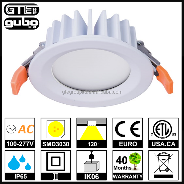 IP65 Waterproof DALI Dimming LED Downlight 20W 5inches