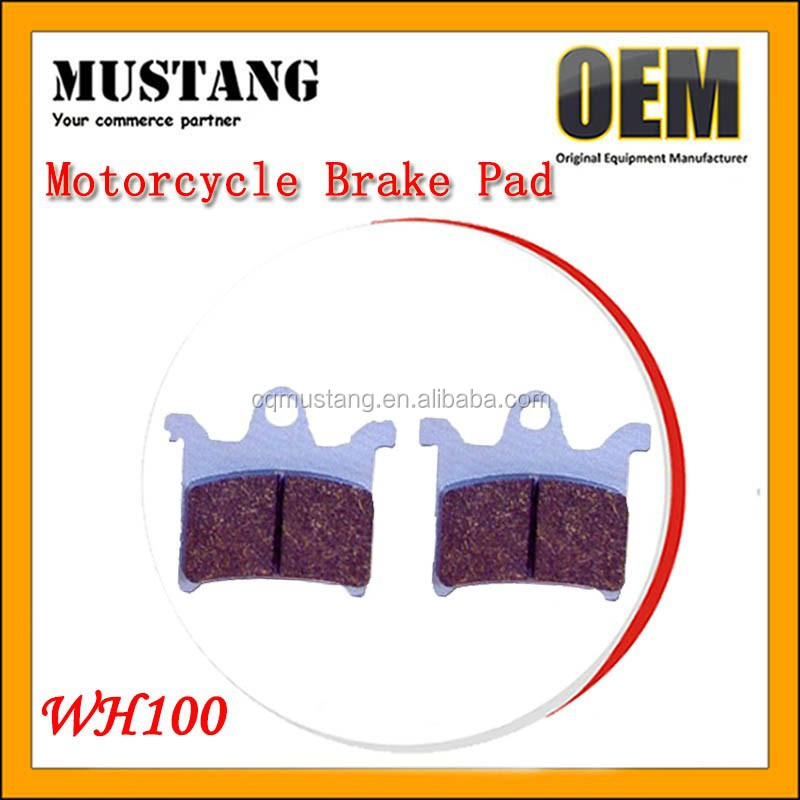 Superb Initial Response Motorcycle Sintered Brake Pads WH100