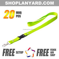 2016 new products cheap custom printed neck lanyards