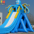 Beach hippo inflatable water slide for sale