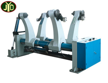 Henan Corrugated Cardboard Production Line Hydraulic Mill Roll Stand