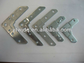 China factory angle iron corner bracket , metal furniture corner brace
