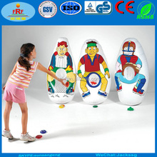 Inflatable Tennis Target, Inflatable Knockdown Toss Target with nets