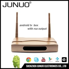 JUNUO wholesale android tv box 2gb ram 8gb rom,s905x android6.0 tv box