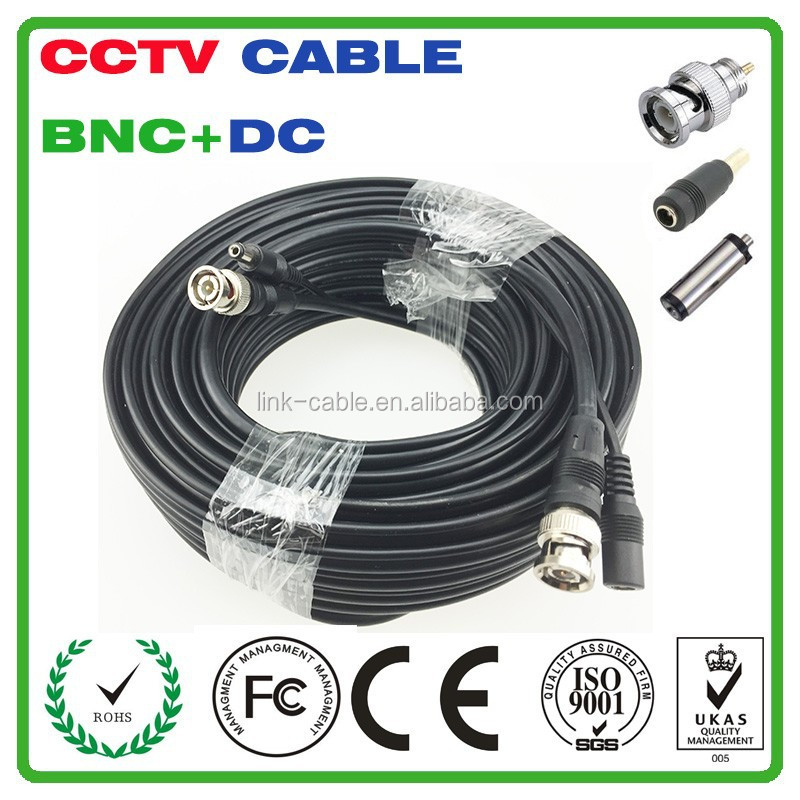 High Quality 150Ft Premade Siamese CCTV Camera Cables